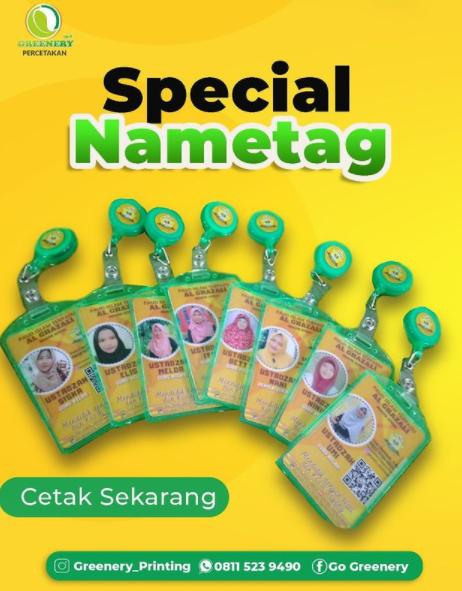 name tag id card palangkaraya